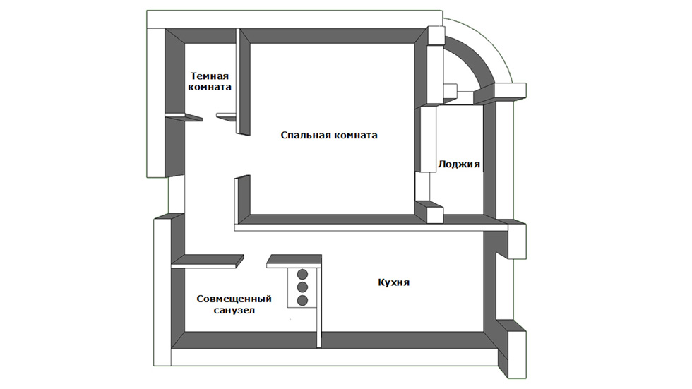Лоджия в доме проекта 111м. - балконный блок - каталог стате.